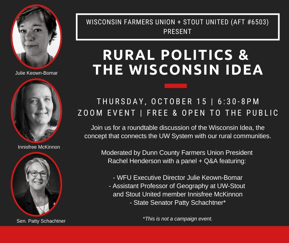 Rural Politics and the Wisconsin Idea promo poster